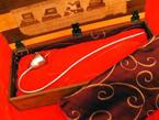 Silver Treaty Pipe Replica - Steve Smithers - silversmith